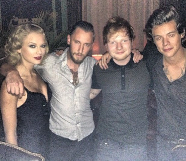 Harry Styles Taylor Swift Ed Sheeran
