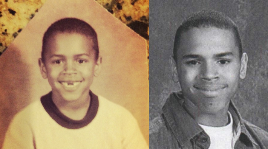 Chris Brown young
