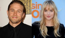 50 Shades of Grey: Charlie Hunnam & Dakota Johnson to play Christian Grey & Ana Steele