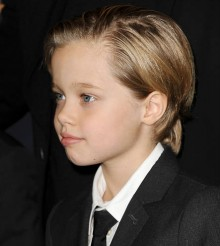 Shiloh Jolie-Pitt Steals The Show In Fashionable Suit