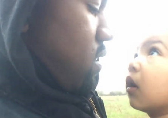 kanye west only one north west