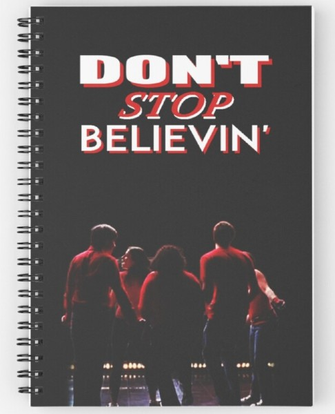 glee notebook