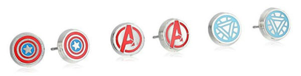 avengers marvel earrings