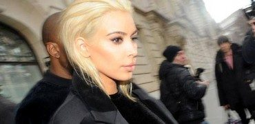 Is Kim Kardashian's New Platinum Blonde Hair Hot or Not?