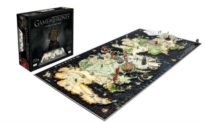 4D Game of Thrones Puzzle