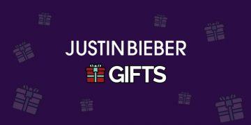 justin bieber gifts