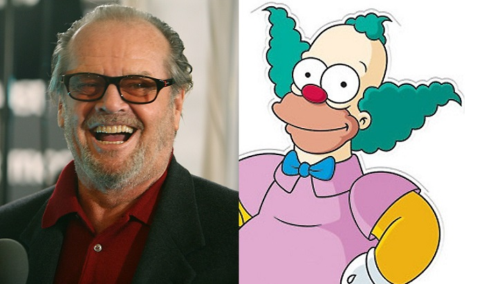 Jack Nicholson as Krusty the Clown