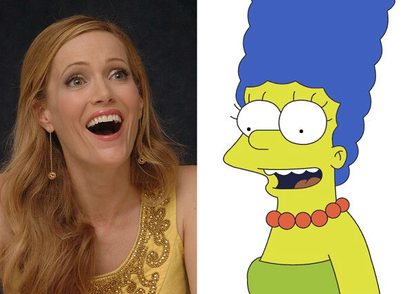 Leslie Mann as Marge Simpson