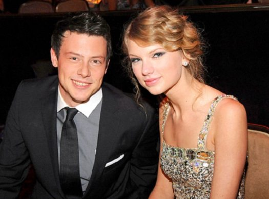 taylor swift and cory monteith