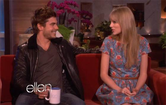 Zac efron a taylor swift dating 2012