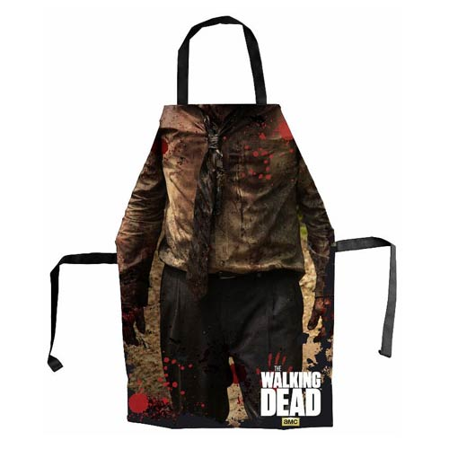 the walking dead apron
