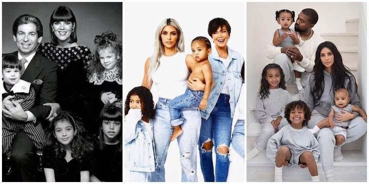 the best kardashian christmas cards over the years