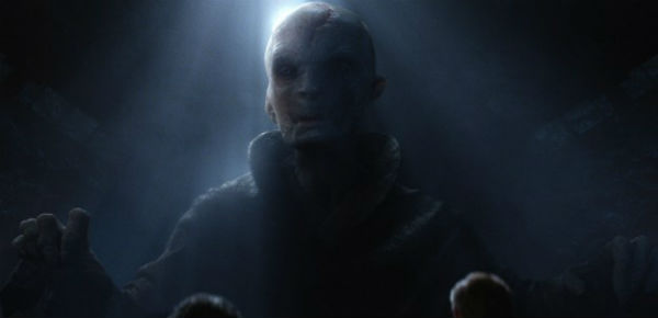 Snoke the force awakens