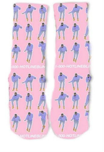 hotline bling socks