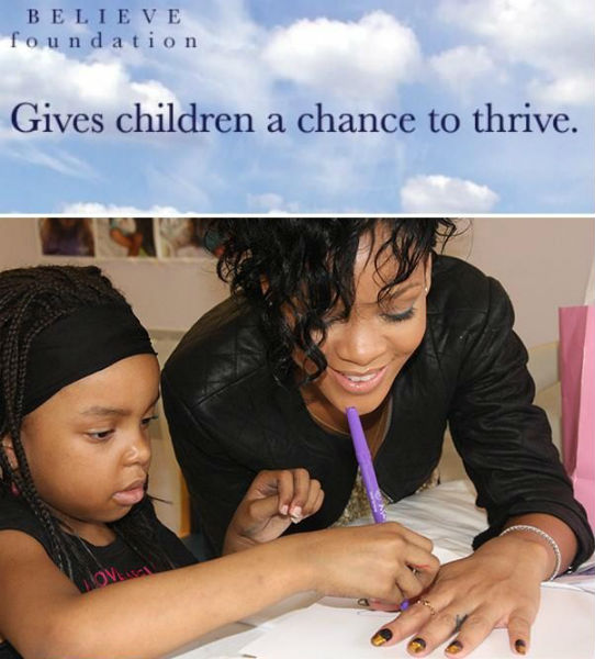 rihanna believe foundation