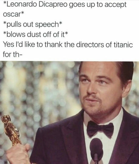 leonardo dicaprio oscar meme - photo #1