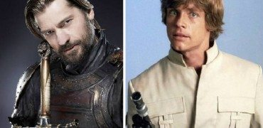 Jaime Lannister and Luke Skywalker