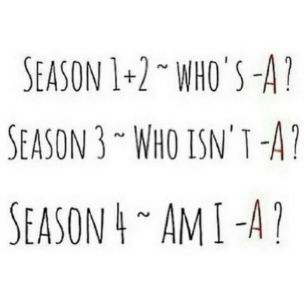pretty little liars am i A