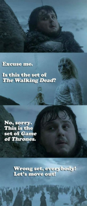 game of thrones walking dead 1?_t=1462459772 54 funniest game of thrones memes you will ever see