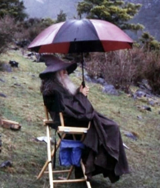 gandalf behind scenes