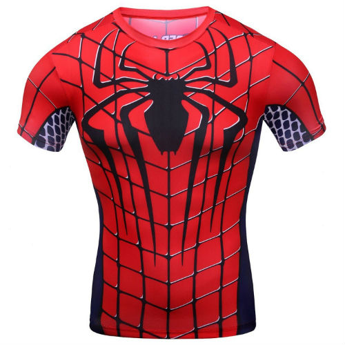graphic spiderman shirt