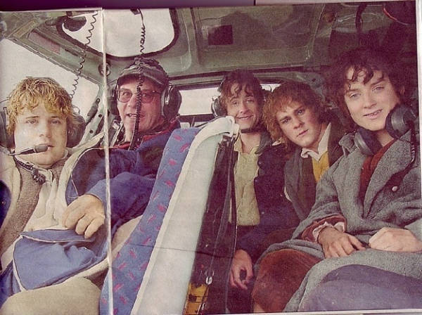 lord of the rings behind scenes