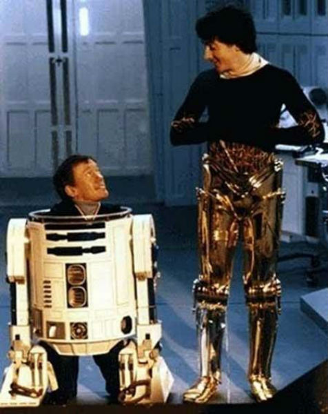 star wars behind scenes