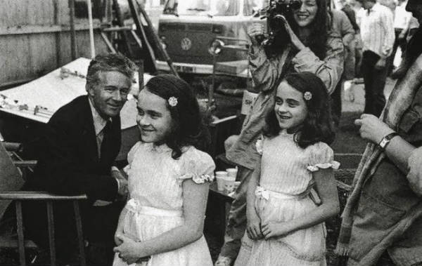 the shining twins behind scenes