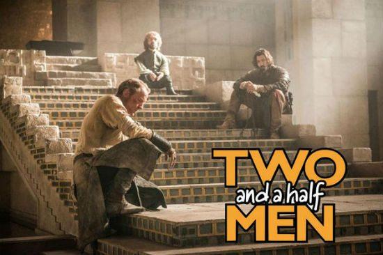 two half men game of thrones