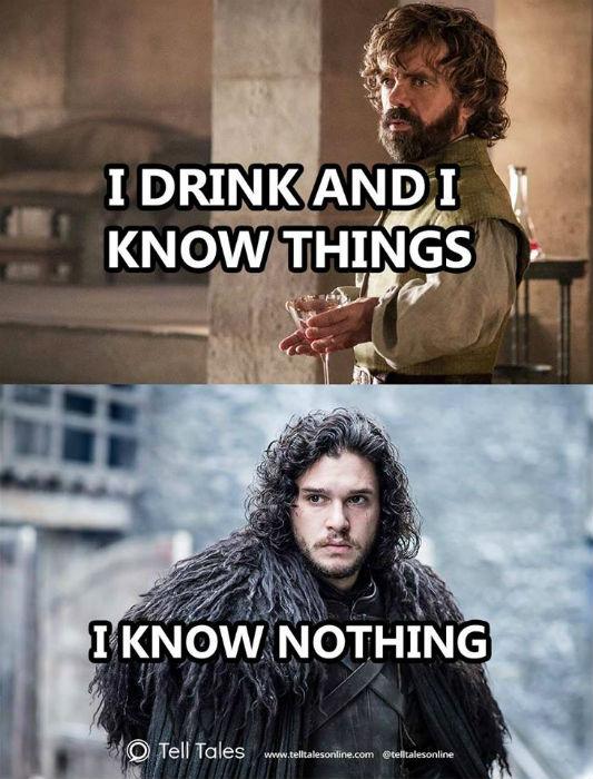 tyrion jon snow meme