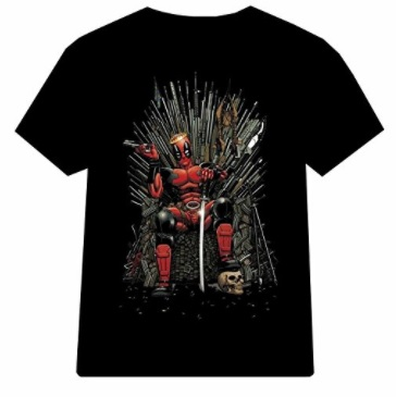 deadpool game thrones shirt