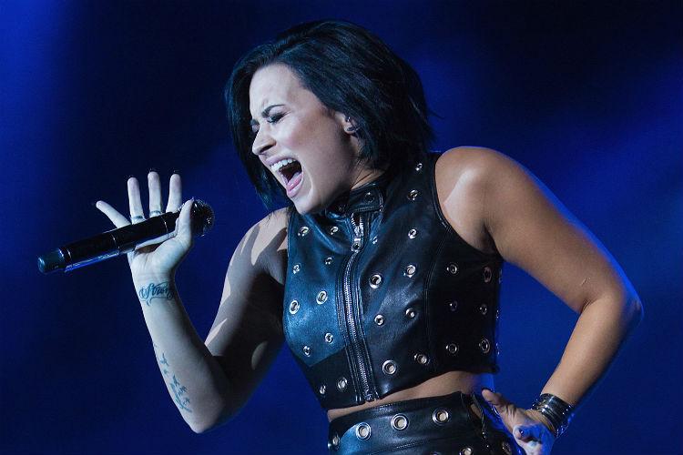 Demi Lovato Covers Ariana Grande