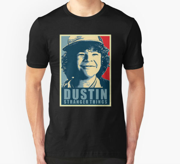 dustin stranger things shirt