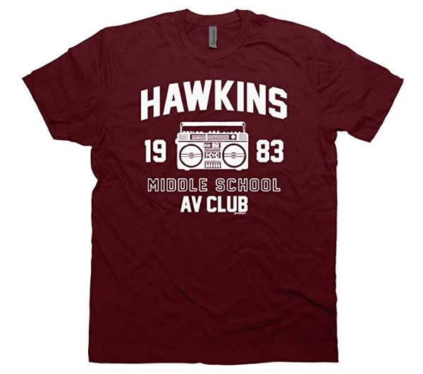 hawkins stranger things shirt