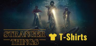 stranger things t-shirts