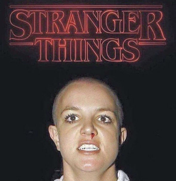 stranger things britney spears