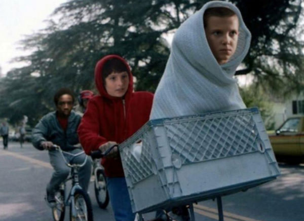stranger things e.t meme