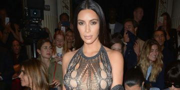 kim kardashian paris fashion week