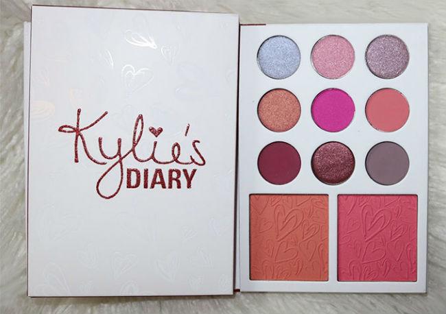 kylie's diary kyshadow