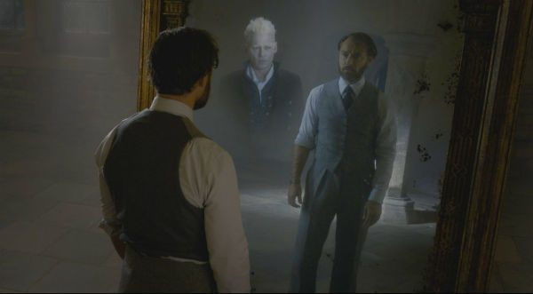 crimes grindelwald Mirror of Erised