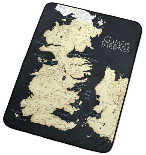 game thrones westeros blanket