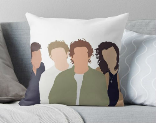 one direction pillow case