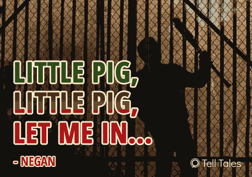 negan little pig