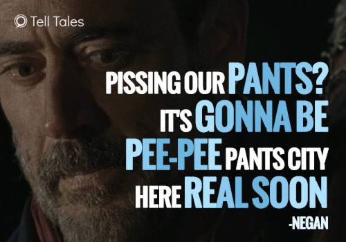 negan pee pants city