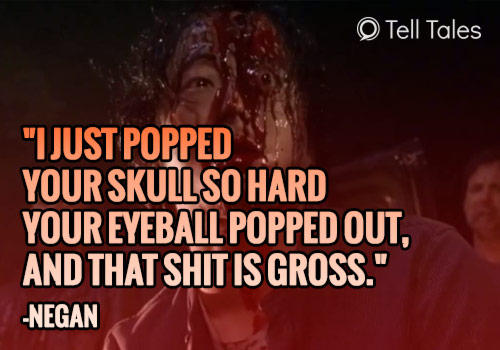 negan glenn quote