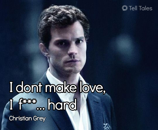 christian grey quote