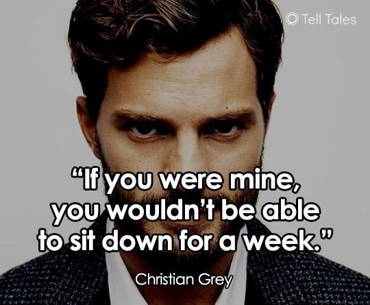 christian grey sexy quote