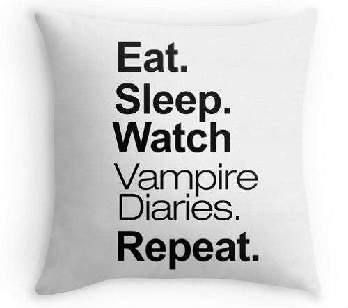 vampire diaries pillow