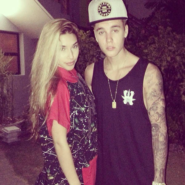 justin bieber Chantel Jeffries