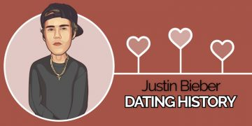 justin biebers dating history